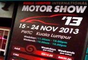 8th Kuala Lumpur International Motor Show 2013