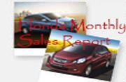 Honda sales growth 39 percent during October 2013