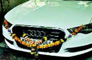 Reliance car crash victim buys 40L Audi