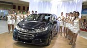 The all new Honda Odyssey at Kuala Lumpur International Motor Show 2013