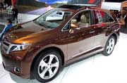Toyota Venza adds a few more upgrades for 2014