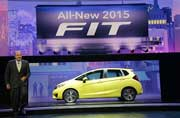 Honda Introduces 2015 Fit at North American International Auto Show 2014 in Detroit