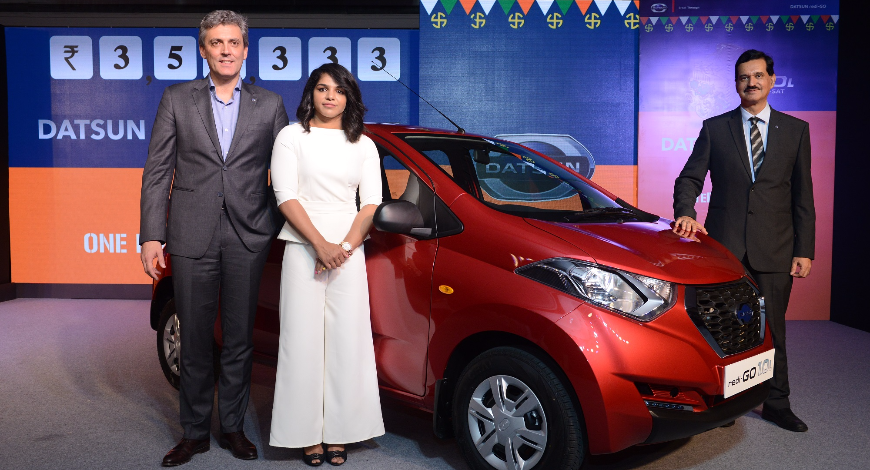 Datsun redi Go Gold Launched at INR 3.69 lakhs