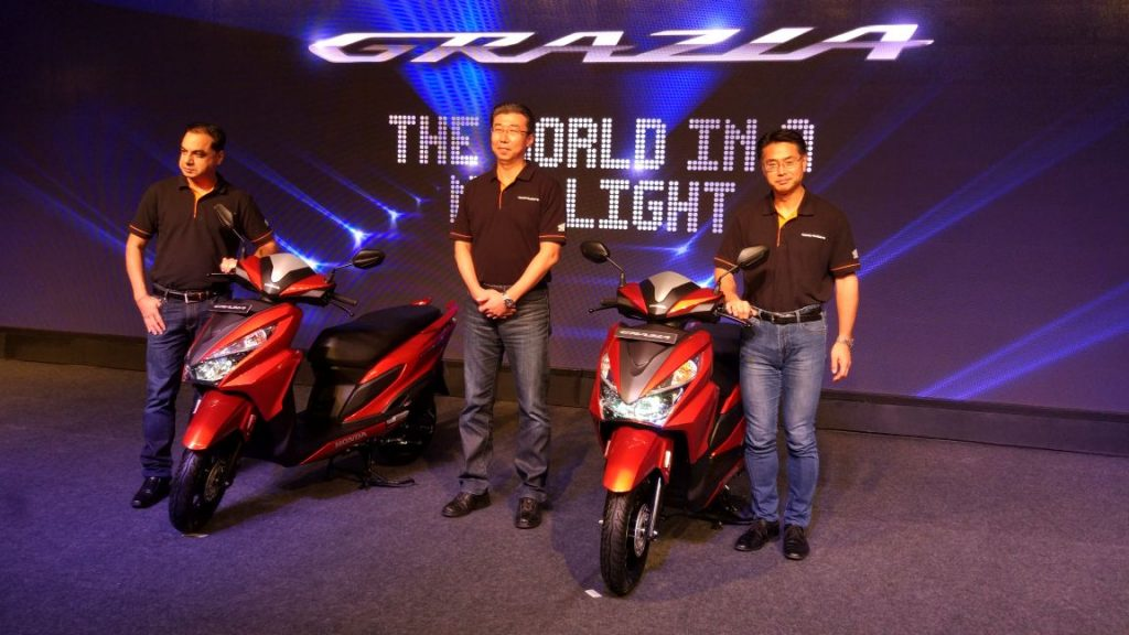 New Honda Grazia 125cc Scooter Launch Specification, Features and Price