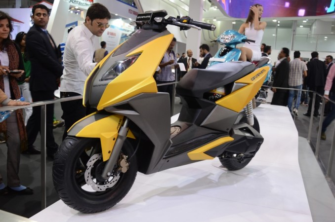 TVS Graphite Scooter