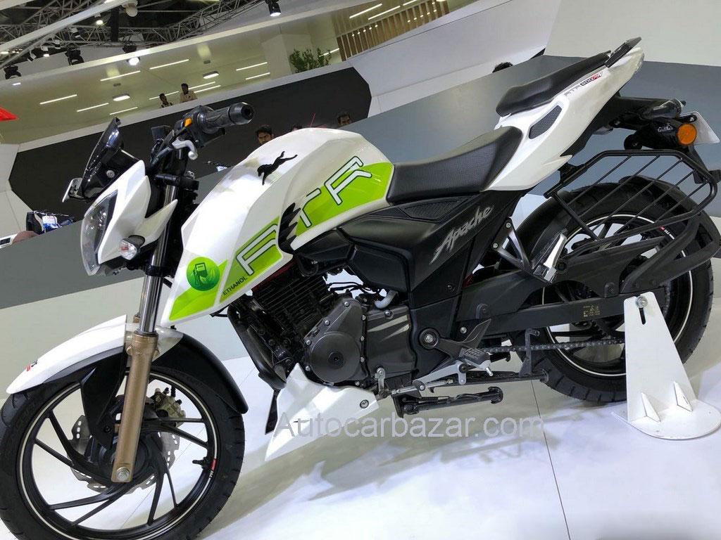 TVS Apache RTR 200 Ethanol