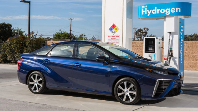 First Run Of Hydrogen Powered