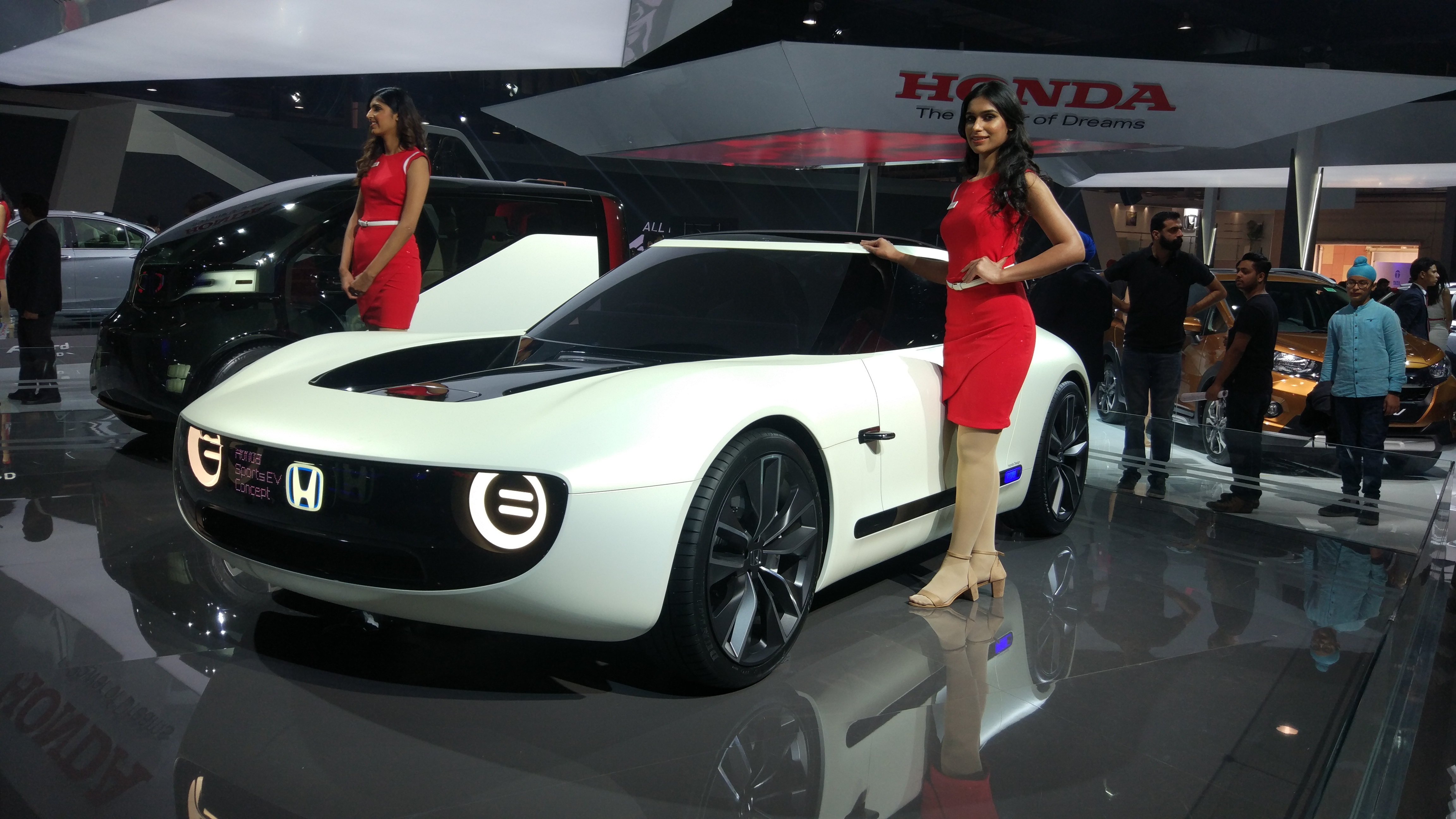 Honda EV Sports at Auto Expo 2018