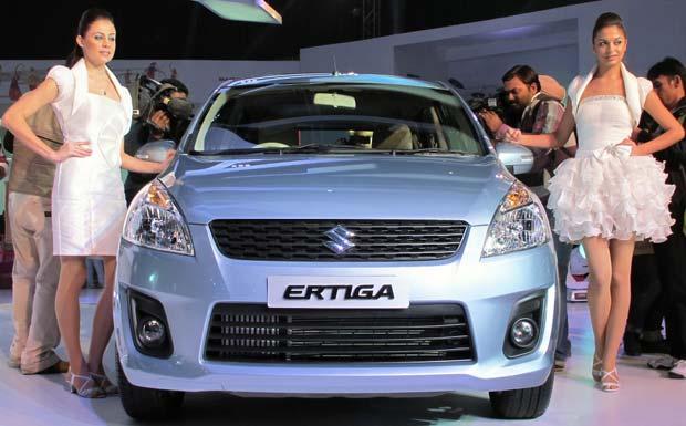Maruti Suzuki Ertiga Spotted Again in India