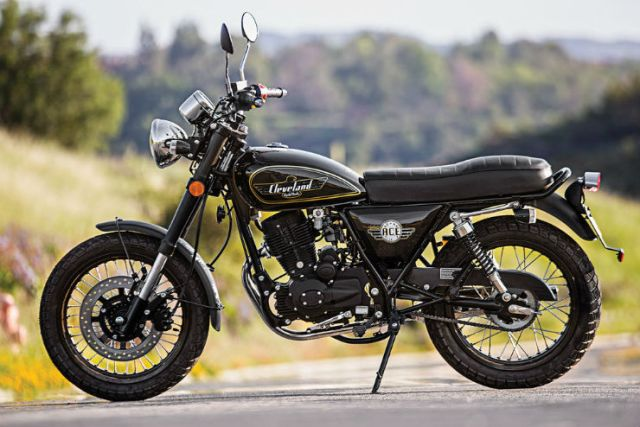 Cleveland Retro Royal Enfield challengers