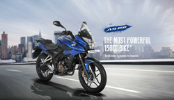 30000 units of the Bajaj Pulsar AS150 & AS200 sold