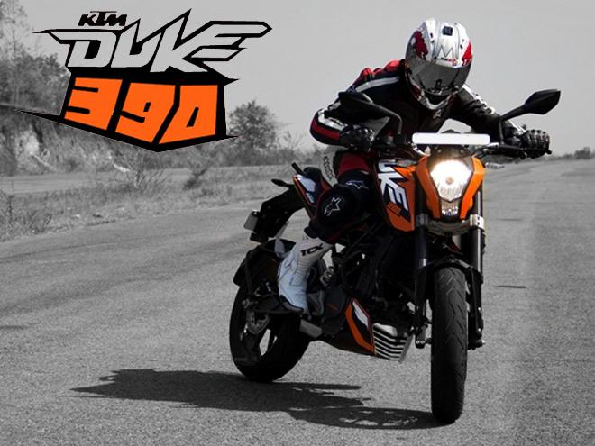 KTM 390 Duke in India test ride and Price