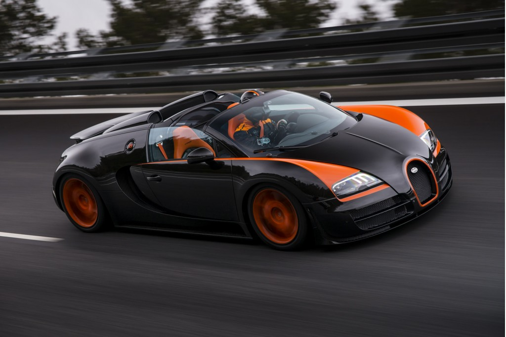 Bugatti Veyron SS re-bagged Worlds Fastest Car Award