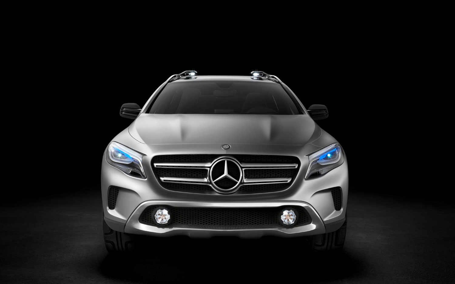 Mercedes Benz GLA Concept Will Be Produced Locally