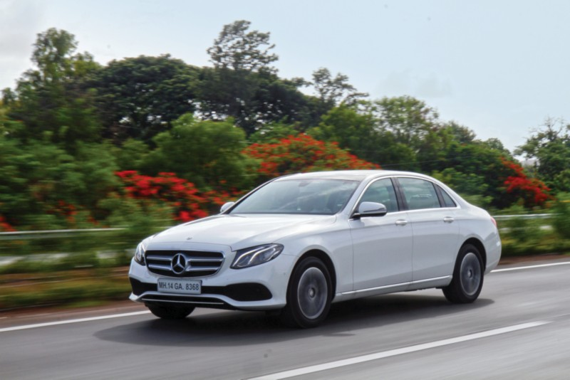 Mercedes Benz 2014 E-Class Introduces Two New Variants Of Diesel And CNG
