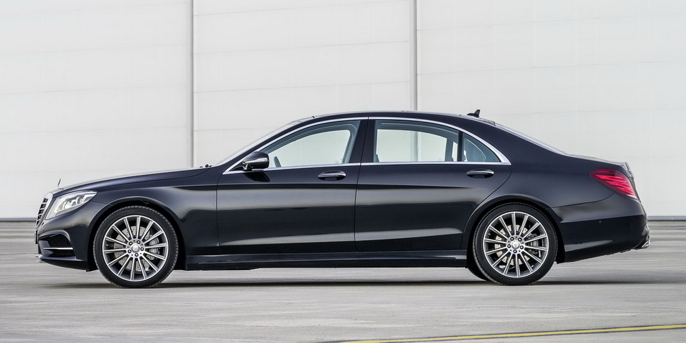 2014 New Mercedes S Class revealed