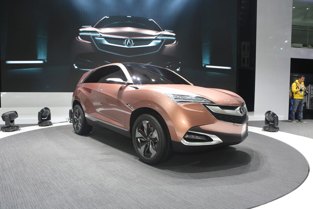 Acura debuts the SUV-X concept car at 2013 Shanghai Auto Show