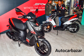 The local production of the Aprilia SR 150 begins