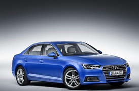 Audi will soon showcase the all-new A4 at the Auto Expo 2016 with the new R8 supercar