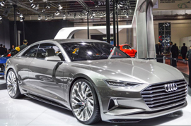 The all new Audi Prologue Concept revealed at the Auto Expo 2016