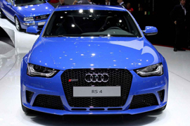 Spy Story of the Audi RS4