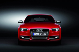 Audi S5 walks the ramp in India enchanting its fans