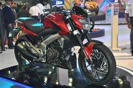 A quick grub for all those craving the all new Bajaj Pulsar Kratos VS 400