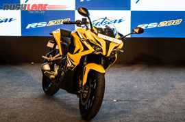 New Bajaj Pulsar RS200 Launched At Rs 1.21 Lakh