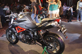 Finally we get a glance of the Benelli TNT 600i LE