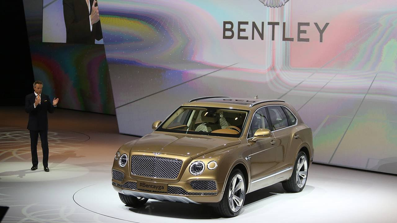 Bentley SUV will unveil in 2016