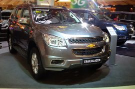 On 21st October General Motors is going to launch it new Chevrolet SUV Trailblazers in India