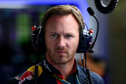 Christian Horner the Boss of Red Bull has his say