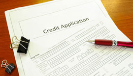 Financing make easy by credit application