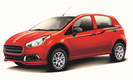 Limited edition of Fiat Punto Sportivo with a price tag of INR 7.1 lakh in the country