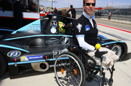 Have Courage and be kind-Physically disabled man all set to race at the Le Mans 2016