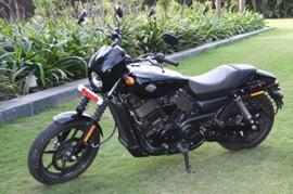 Harley Davidson Street 750 wins again