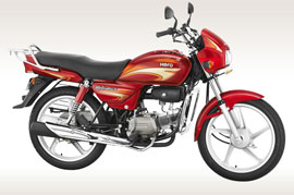 Hero Splendor Plus self-start coming up