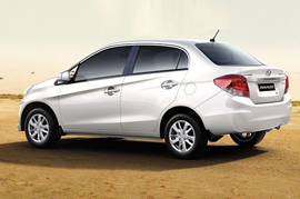 Spy Story of the Honda Amaze Face lift
