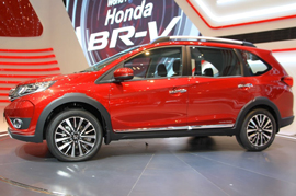 Honda BR-V to showcase at the Auto Expo 2016