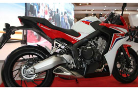Now you can officially book the Honda CBR650F to be launched on 04th Aug 2015