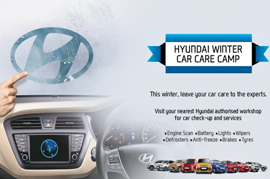 Hyundai Free Car care camp
