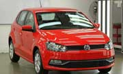India bound Vw Polo got its make-over