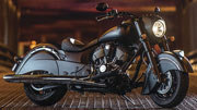 Indian Dark Chief Horse 2016 on the Indian roads