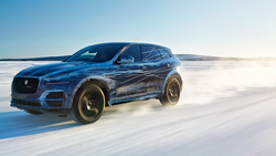 The First look of the Jaguar F-Pace