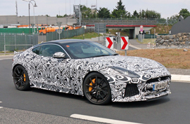 Jaguar soon to unwrap the F Type SVR sports coupe