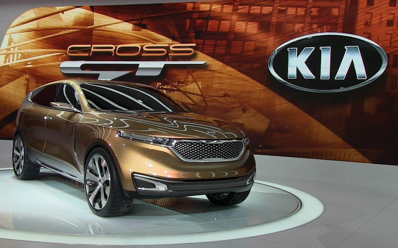Kia Cross GT Unfolds Chicago Auto Show 2013
