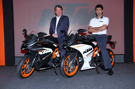 KTM RC 200 Launched at Rs 1.71 Lakh in New Year
