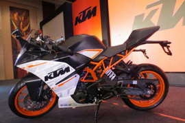 The Spy Story of the KTM RC390