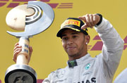 Lewis Hamilton adds another victory in his portfolio