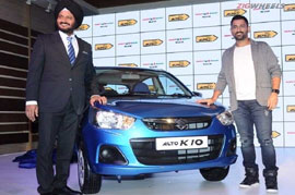 A Deeper look at the MS Dhoni Maruti Alto 800